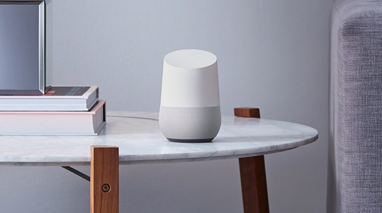 google home wit woonkamer